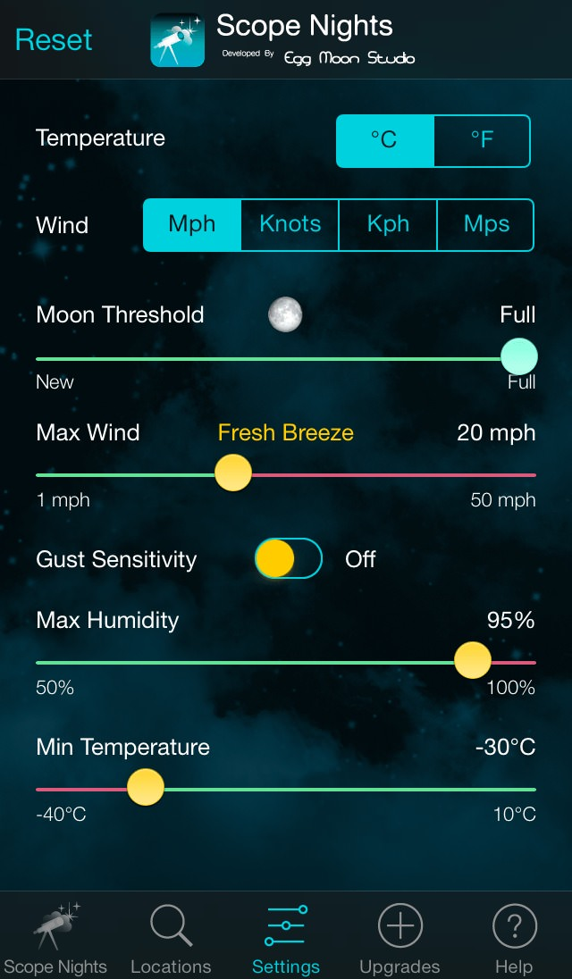 Scope Nights Astronomer's Weather Pack