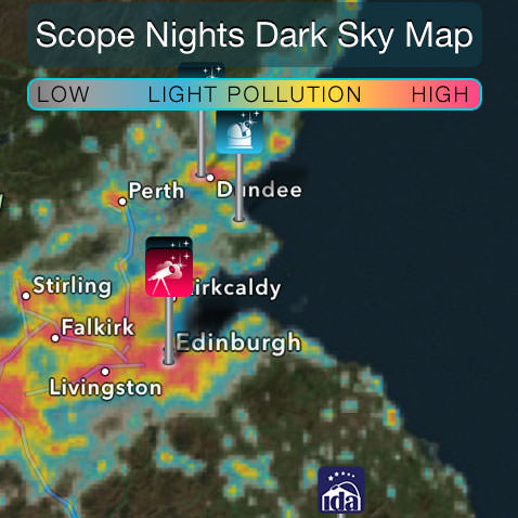 Scope Nights: Dark Sky Locations