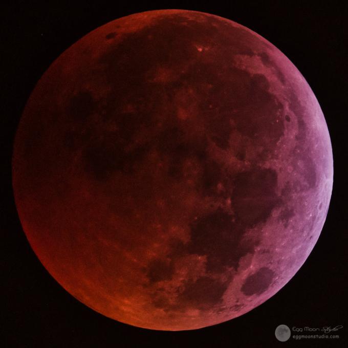 Total Lunar Eclipse 2019 - Super Wolf Blood Moon